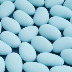 Almendras confitadas azules